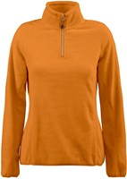 Red Flag Frontflip Dames fleece ½ zip-Oranje-XS-1