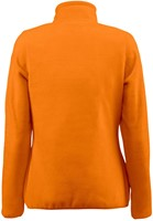 Red Flag Frontflip Dames fleece ½ zip-Oranje-XS-2