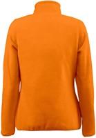 Red Flag Frontflip Dames fleece ½ zip-Oranje-XS