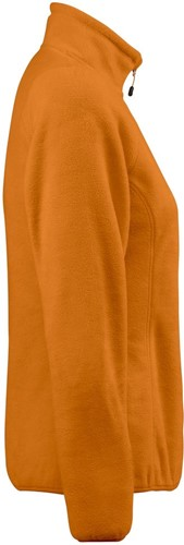 Red Flag Frontflip Dames fleece ½ zip-Oranje-XS-3