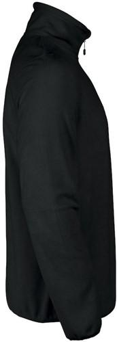 Red Flag Railwalk fleece ½ zip-Zwart-S-3