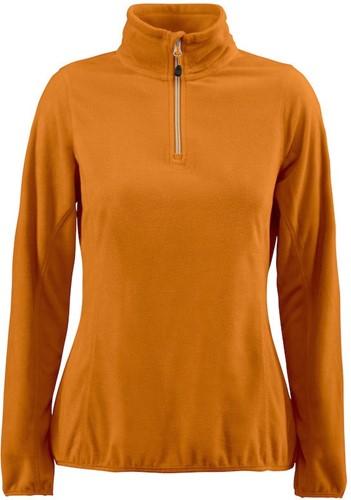 Red Flag Railwalk Dames fleece ½ zip-Oranje-XS-1