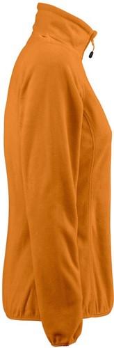 Red Flag Railwalk Dames fleece ½ zip-Oranje-XS-3