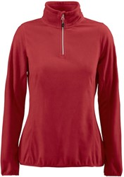 Red Flag Railwalk Dames Fleece ½ Zip