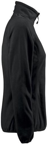 Red Flag Railwalk Dames fleece ½ zip-Zwart-XS-3