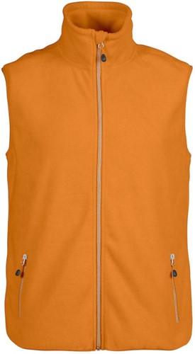 Red Flag Sideflip fleece vest-Oranje-S
