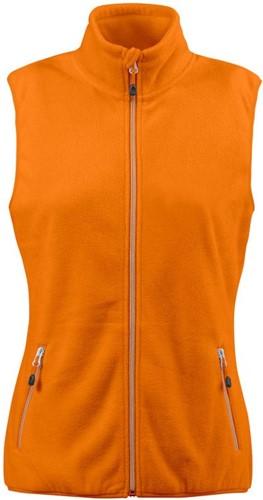 Red Flag Sideflip Dames fleece vest-Oranje-XS-1