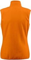 Red Flag Sideflip Dames fleece vest-Oranje-XS-2