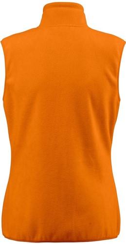 Red Flag Sideflip Dames fleece vest-Oranje-XXL-2