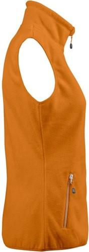 Red Flag Sideflip Dames fleece vest-Oranje-XS-3
