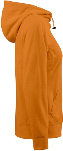 Red Flag Switch Dames fleece hoodie-Oranje-XS-3