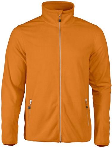 Red Flag Twohand fleece jacket-Oranje-S-1