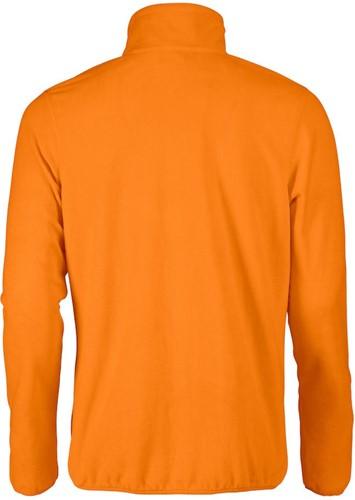 Red Flag Twohand fleece jacket-Oranje-S-2