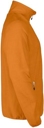 Red Flag Twohand fleece jacket-Oranje-S-3