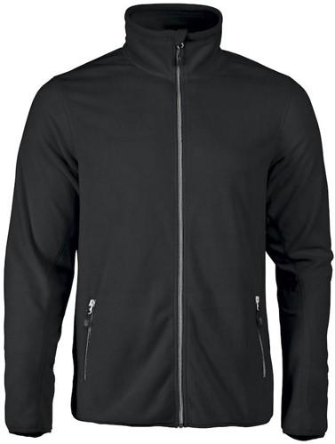 Red Flag Twohand fleece jacket-Zwart-S-1