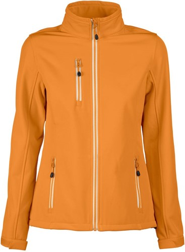 Red Flag Vert Dames Softshell jacket-Oranje-XS