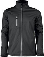 Red Flag Vert Softshell jacket-Zwart-XS-1