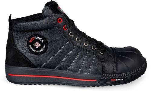 Redbrick Onyx Toe cap Black S3-36
