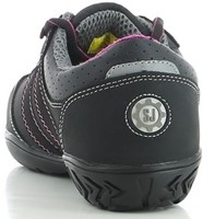 OUTLET! Safety Jogger Ceres S3 Metaalvrij - Zwart/Roze - Maat 41-3