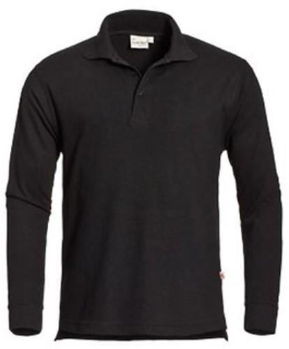 SALE! Santino Poloshirt Matt - Zwart - Maat M