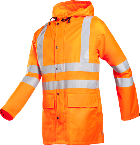SALE! Sioen Monoray Signalisatie Regenjas - Oranje - Maat L