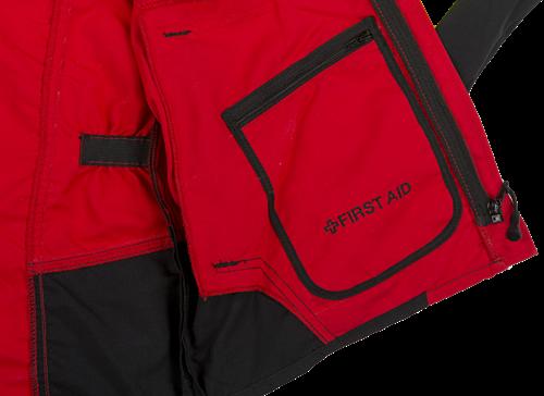 SIP Werkjas 1SLW-830 Rood/Geel/Zwart-S