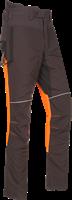 SIP Zaagbroek 1SRL-830 - Grijs/Fluo Oranje/Zwart - XS Kort-Grijs/Fluo Oranje/Zwart-XS Kort-1