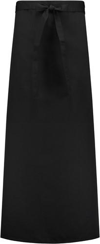 Basic sloof met split - Zwart-1
