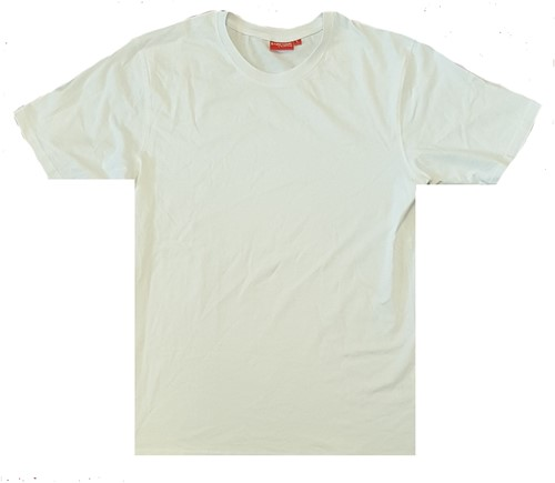 SALE! Brams Paris 001 T-shirt - Wit - Maat L