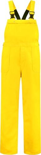 WW4A Tuinbroek Polyester/Katoen - Geel - Maat 104