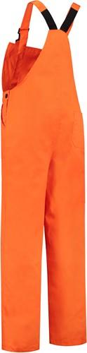 WW4A Tuinbroek Polyester/Katoen - Oranje - Maat 104
