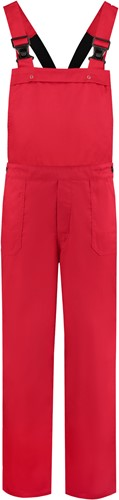 WW4A Tuinbroek Polyester/Katoen - Rood - Maat 104