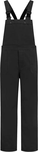 WW4A Tuinbroek Polyester/Katoen - Zwart - Maat 104