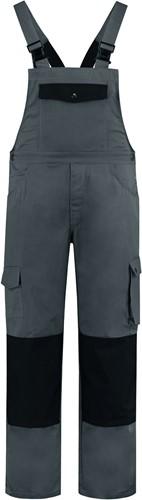 WW4A Tuinbroek Katoen/Polyester - Grijs/Zwart - Maat 44