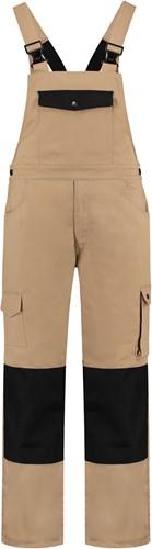 WW4A Tuinbroek Katoen/Polyester - Khaki/Zwart - Maat 44