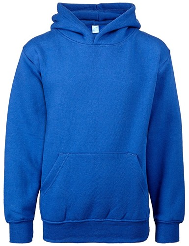 SALE! Uneek UC503 Childrens Hooded Sweatshirt - Blauw - Kindermaat 7-8