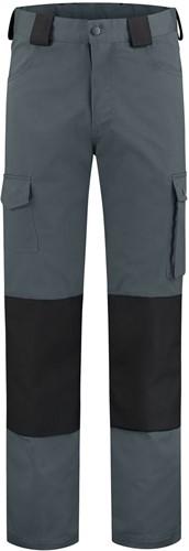 WW4A Werkbroek Katoen/Polyester - Grijs/Zwart