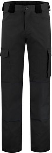 WW4A Kinderwerkbroek Katoen/Polyester - Zwart