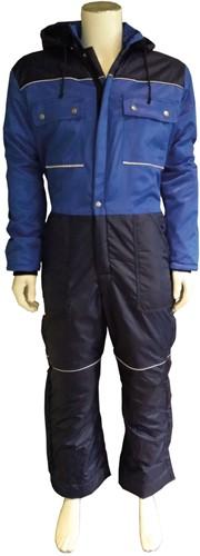 WW4A Winteroverall Polyester/Katoen - Blauw/Navy